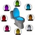 LED Осветление за тоалетна - 8 цвята
