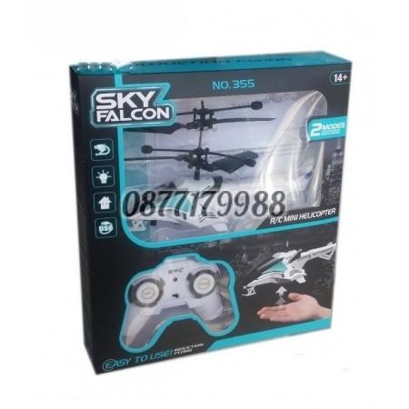 Мини хеликоптер с радиоуправление Sky falcon 355