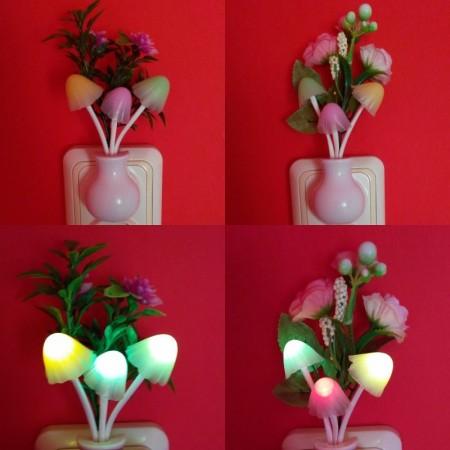 Декоративна нощна лампа Гъби