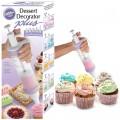 Иновативен шприц за декорация на сладкиши DESSERT DECCORATOR PLUS
