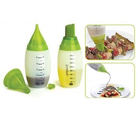 Chef´s bottle kit - 2 термо - силиконови шишета за шприцване и мазане