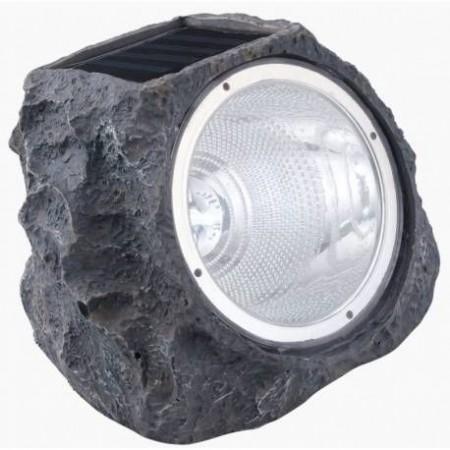 Соларна лампа - имитация камък 4 LED