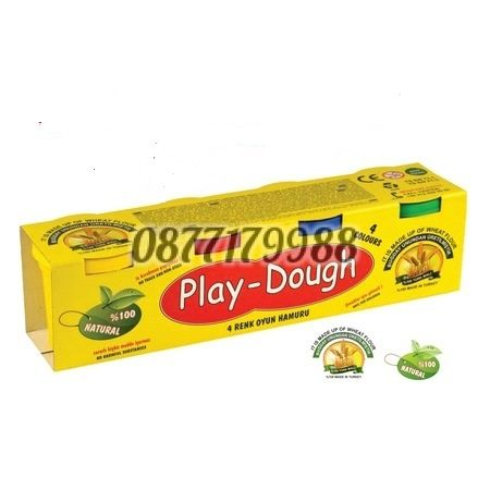 Моделин Play-Dough 4 цвята