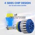 Комплект LED диодни крушки за фарове. Нов дизайн 360 ° без загуба на светлина