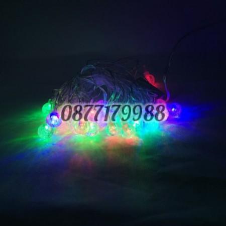 Коледни LED светлини, кристални топчета