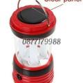 Мощна презареждаща се къмпинг LED лампа с вградени батерии зареждане солар